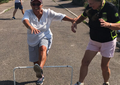 Made up hurdles race Beer Regatta 2020 Remotely