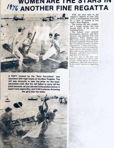 Beer Regatta News 1976