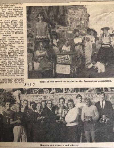 Beer Regatta Newspaper Clipping 1967