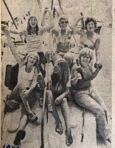 Beer Regatta Newspaper Clipping 1976