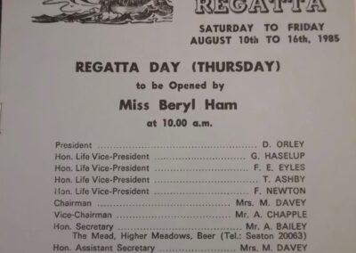 Beer Regatta 1985
