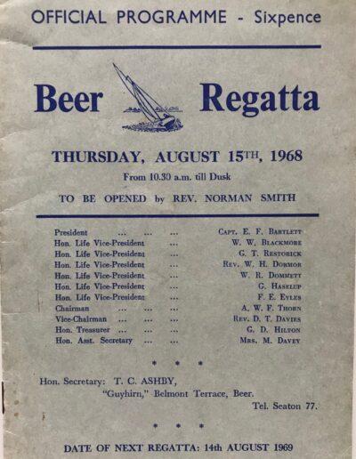 Beer Regatta 1968
