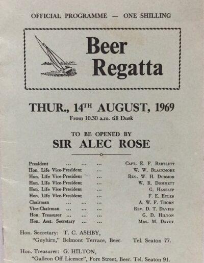 Beer Regatta 1969