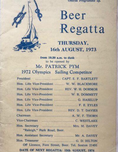 Beer Regatta 1973