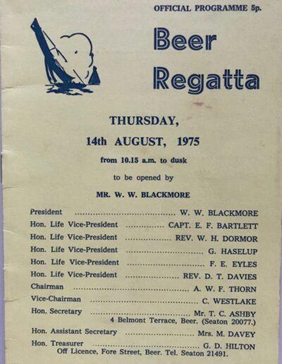 Beer Regatta 1975