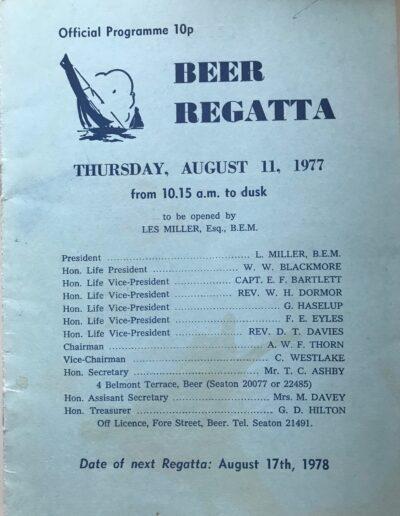Beer Regatta 1977