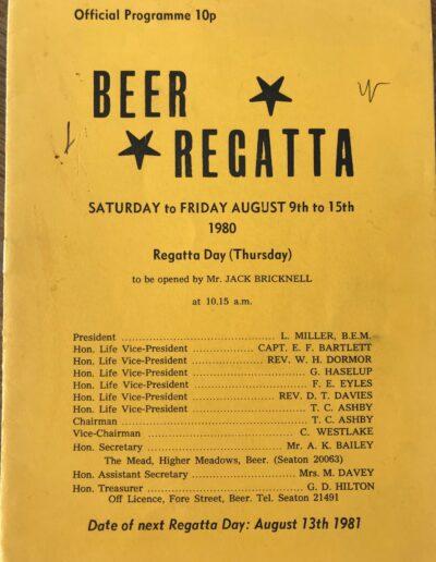 Beer Regatta 1980