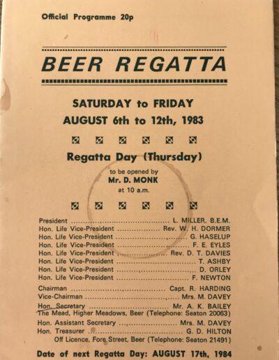 Beer Regatta 1993