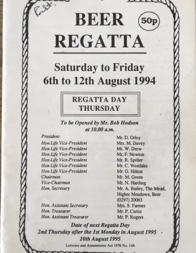 Beer Regatta 1994