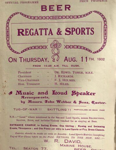 Beer Regatta 1932
