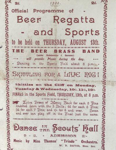 Beer Regatta 1925