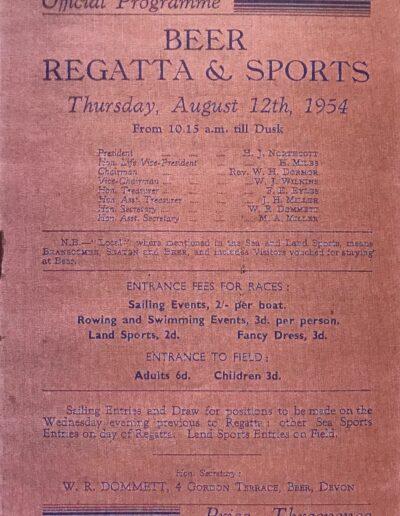 Beer Regatta 1954