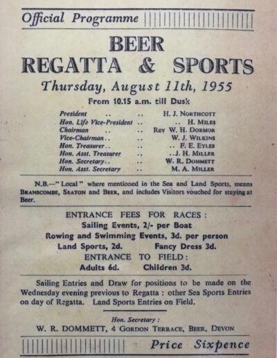 Beer Regatta 1955
