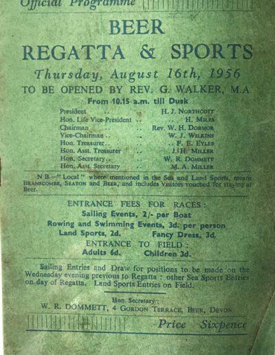 Beer Regatta 1956